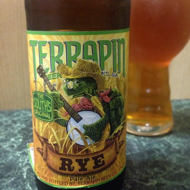 Terrapin Rye Pale Ale vía @j_sanmurphy en Instagram