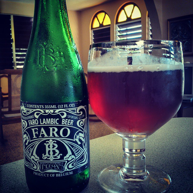 Lindemans Faro Lambic Beer vía @cracker8110 en Instagram