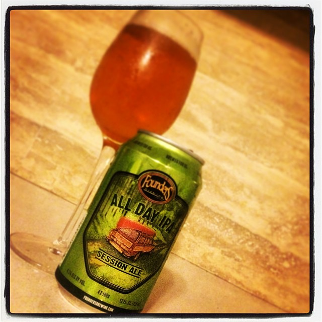 Founders All Day IPA vía @justlissy en Instagram