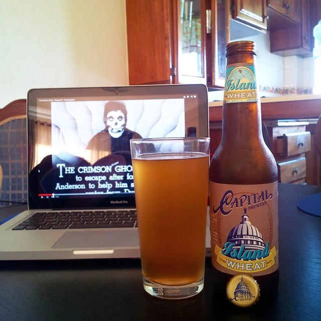 Capital Brewery Island Wheat vía @emekatreberesei en Instagram