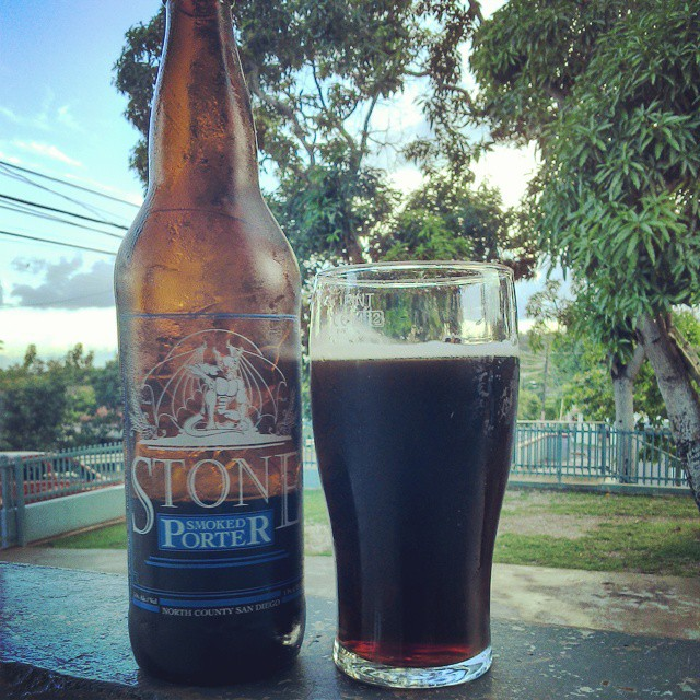 Stone Smoked Porter vía @cracker8110
