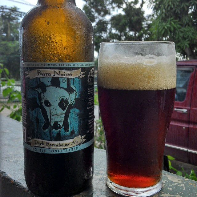 Jolly Pumpkin Bam Noire vía @cracker8110 en Instagram