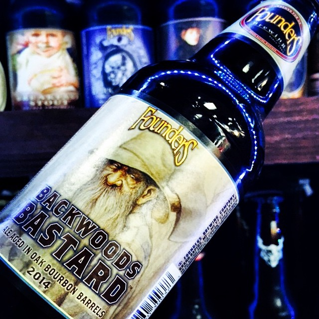 Founders Backwoods Bastard vía @shell65infanteria en Instagram
