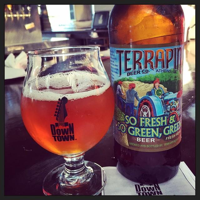 Terrapin So Fresh & So Green, Green IPA vía @thecraftbeergal en Instagram