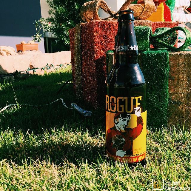 Rogue Yellow Snow IPA vía @manuhola en Instagram