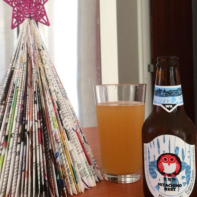 Hitachino Nest White Ale vía @apaman8 en Instagram