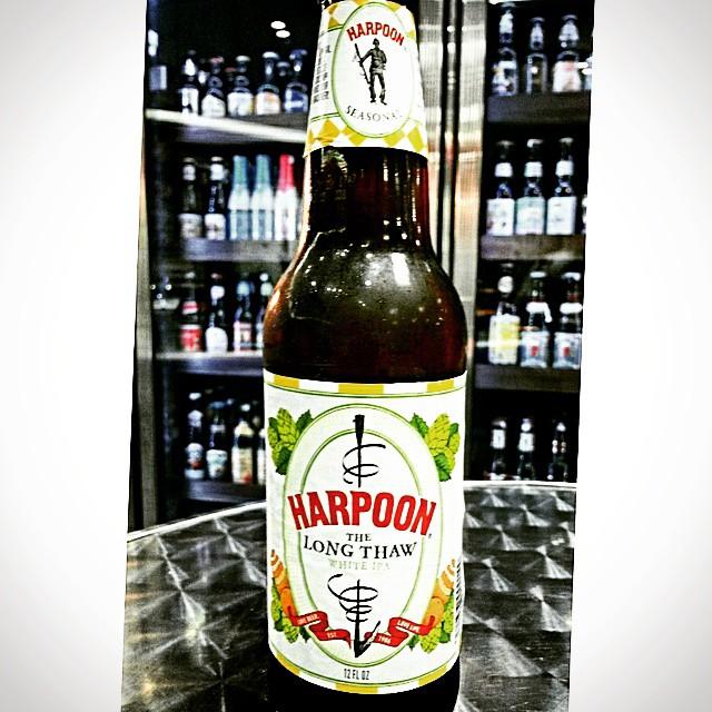 Harpoon The Long Thaw White IPA vía @valdorm en Instagram