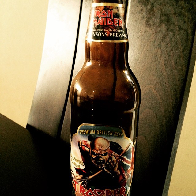 Iron Maiden Trooper vía @adalbertoq en Instagram