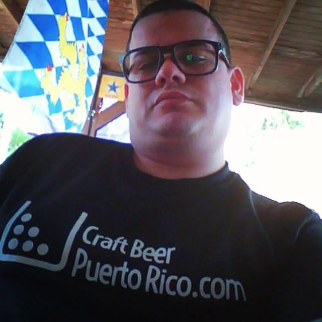 @cracker8110 con su camisa de Craft Beer PR
