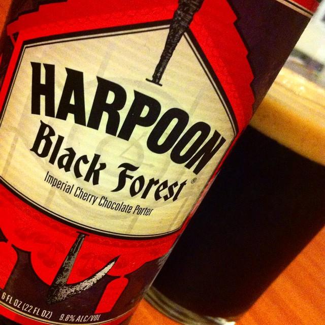 Harpoon Black Forest vía @apaman8 en Instagram