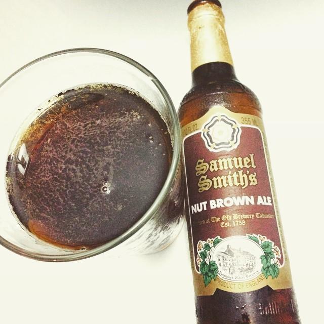 Samuel Smith Nut Brown Ale vía @lmv30 en Instagram