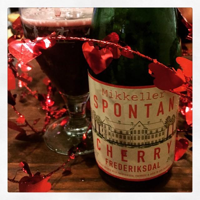 Mikkeller Fontan Cherry Frederiksdal vía @thecraftbeergal en Instagram
