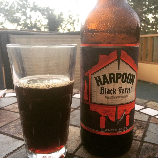 Harpoon Black Forest Imperial Cherry Chocolate Porter vía @abdielopr11 en Instagram