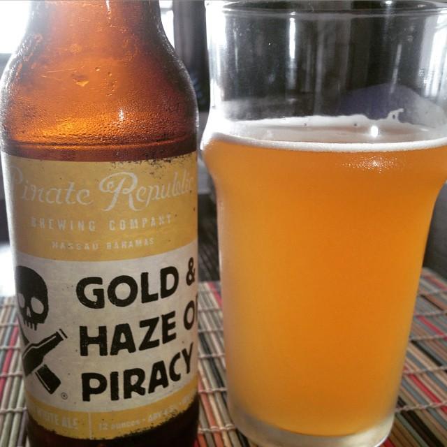 Pirate Republic Gold & Haze vía @cesargonz en @Instagram