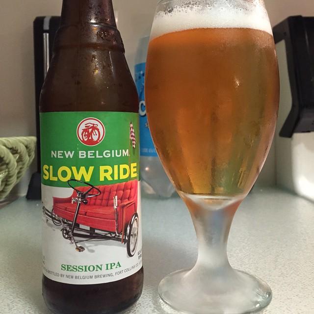 New Belgium Slow Rider Session IPA vía @ramonjdejesus en Instagram
