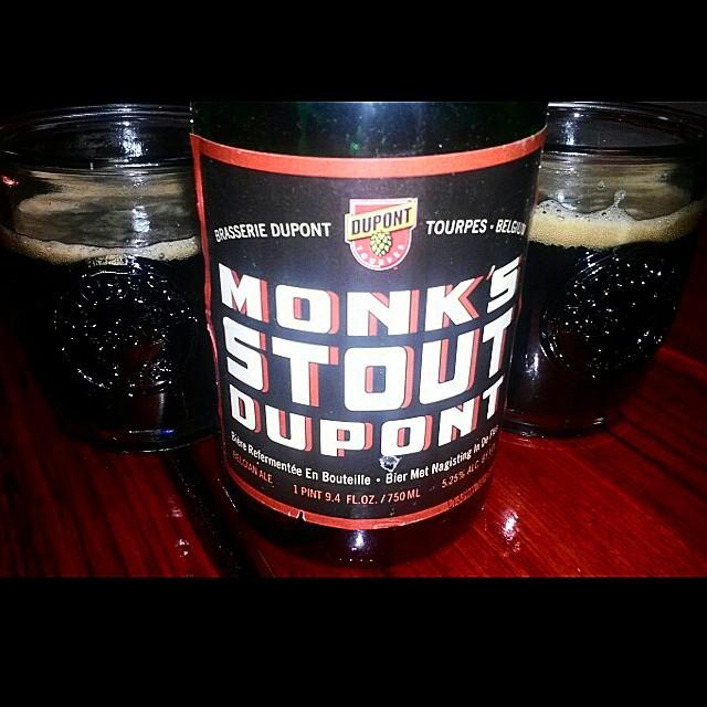 Monk's Stout de Dupont vía @valdorm en Instagram