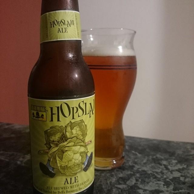 Bell's Hopslam Ale vía @adejesus80 en Instagram