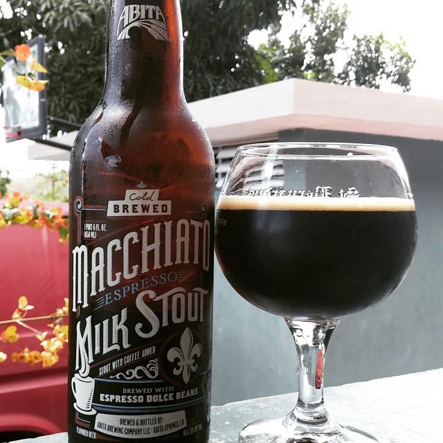 Abita Macchiato Espresso Milk Stout vía @cracker8110 en Instagram