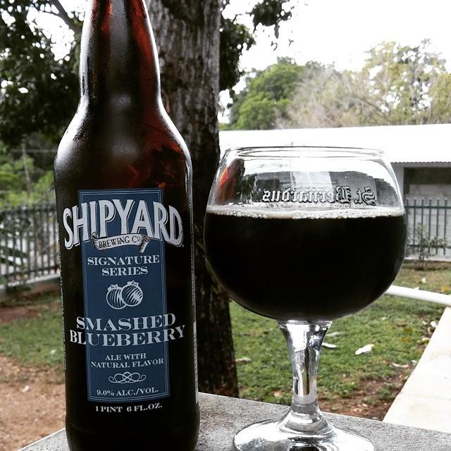 Shipyard Smashed Blueberry vía @cracker8110 en Instagram