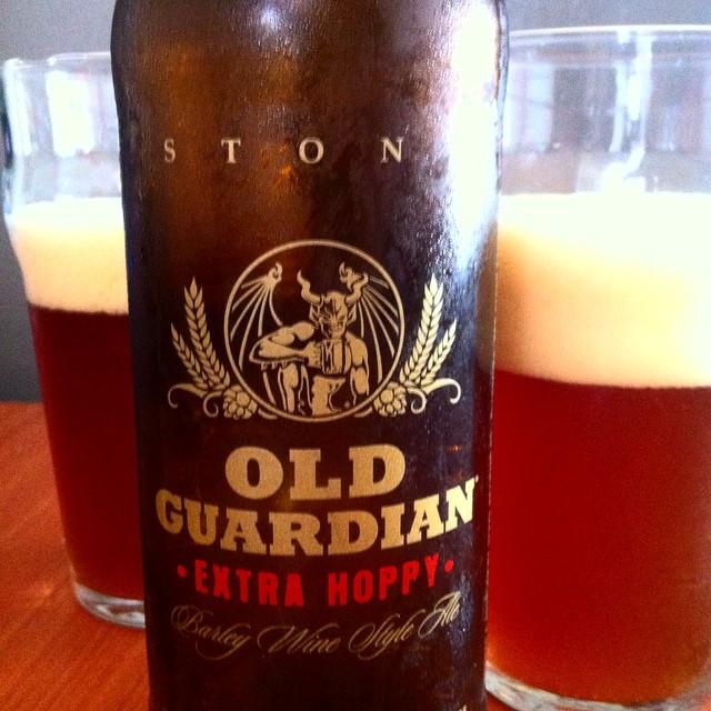 Stone Old Guardian Extra Hoppy vía @apaman8 en Instagram