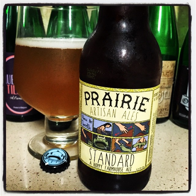 Prairie Standard Saison vía @thecraftbeergal en Instagram