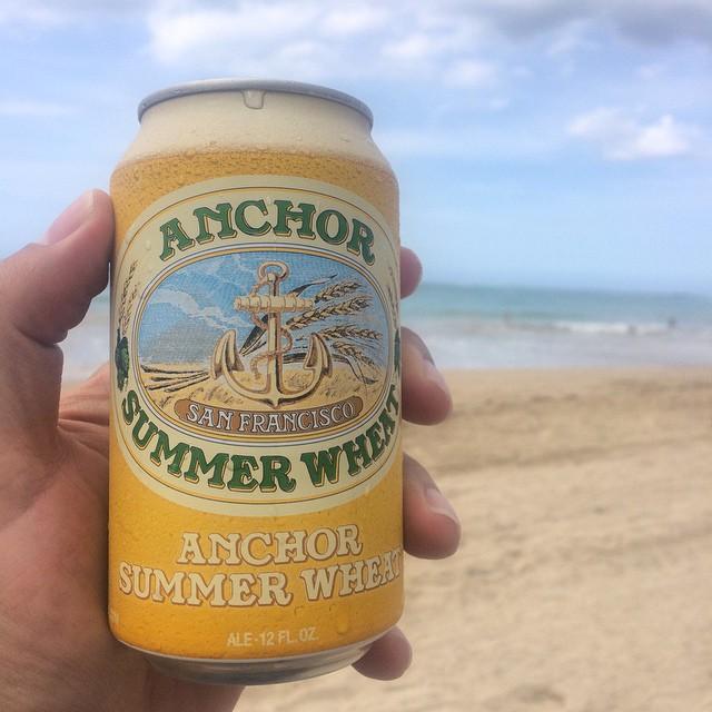 Anchor Summer Wheat vía @ramonesbrew en Instagram
