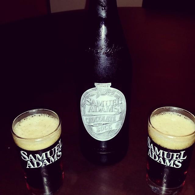 Samuel Adams Chocolate Bock vía @michysantiago en Instagram