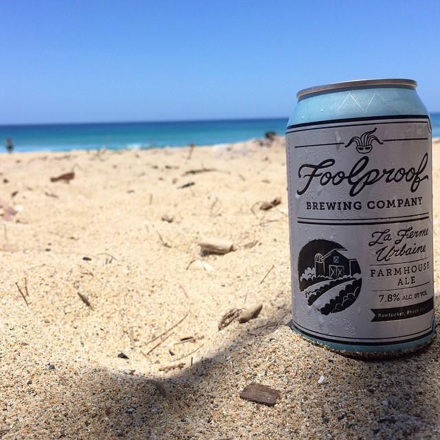 Foolproof Farmhouse Ale vía @illarchie en Instagram