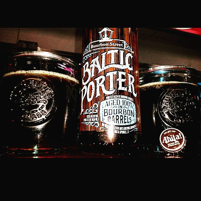 Abita Bourbon Street Baltic Porter vía @valdorm en Instagram