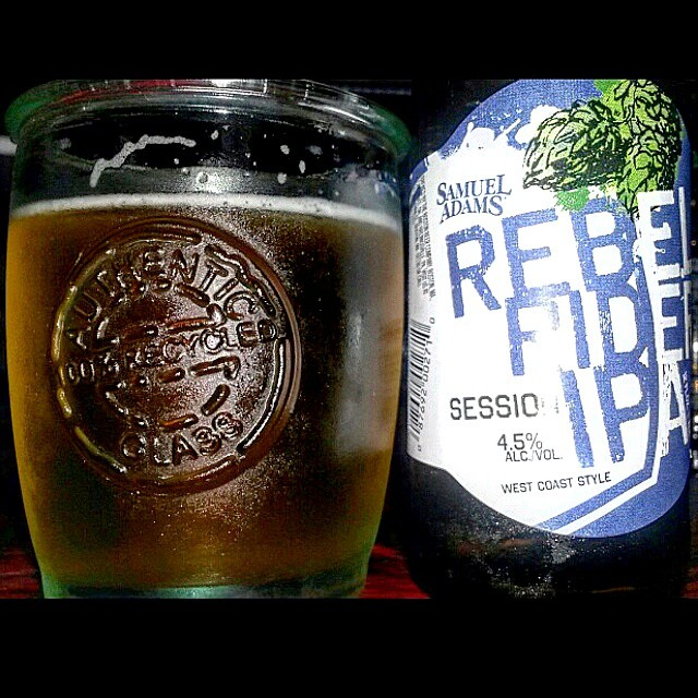 Samuel Adams Rebel Ride IPA via @valdorm en Instagram