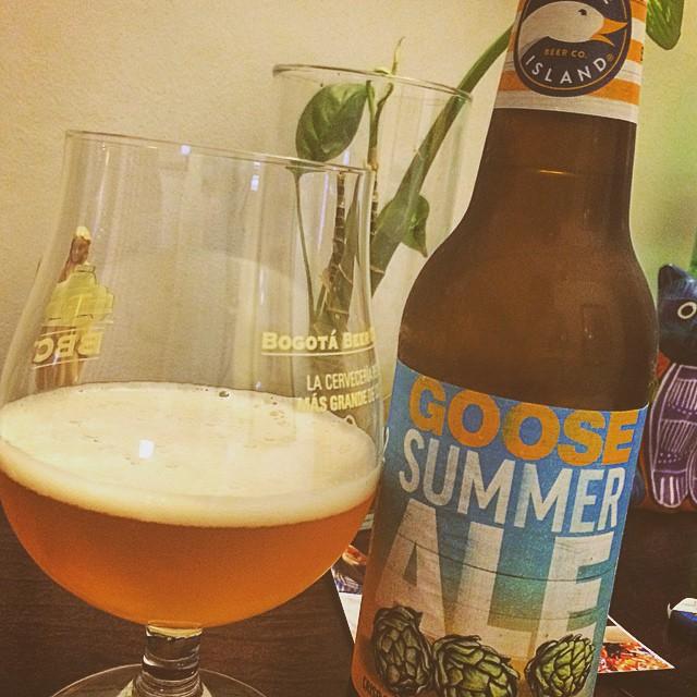 Goose Island Summer Ale vía @eegueits en Instagram