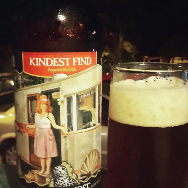 Smuttynose Kindest Find Imperial Red Ale vía @cracker8110 en Instagram