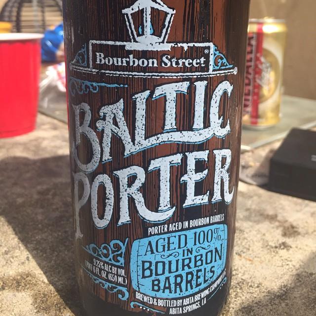 Abita Bourbon Street Baltic Porter vía @apaman8 en Instagram
