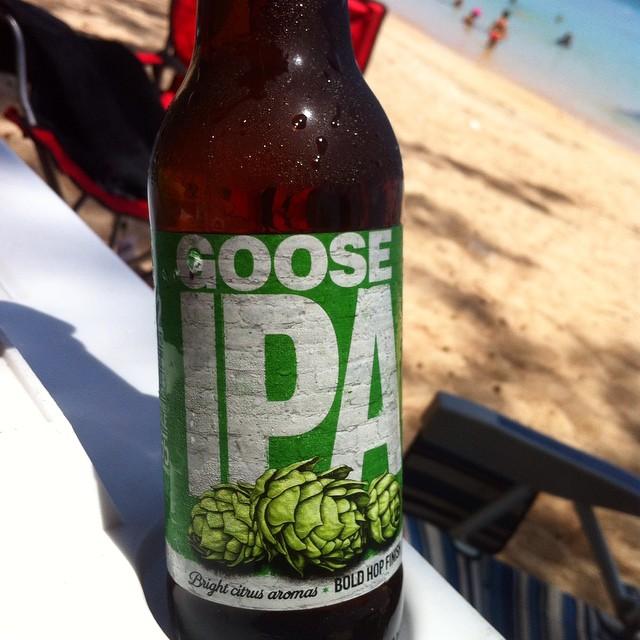 Goose Island IPA vía @apaman8 en Instagram