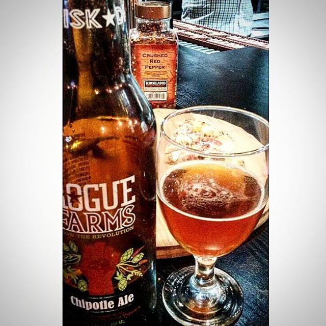 Rogue Chipotle Ale vía @valdorm en Instagram