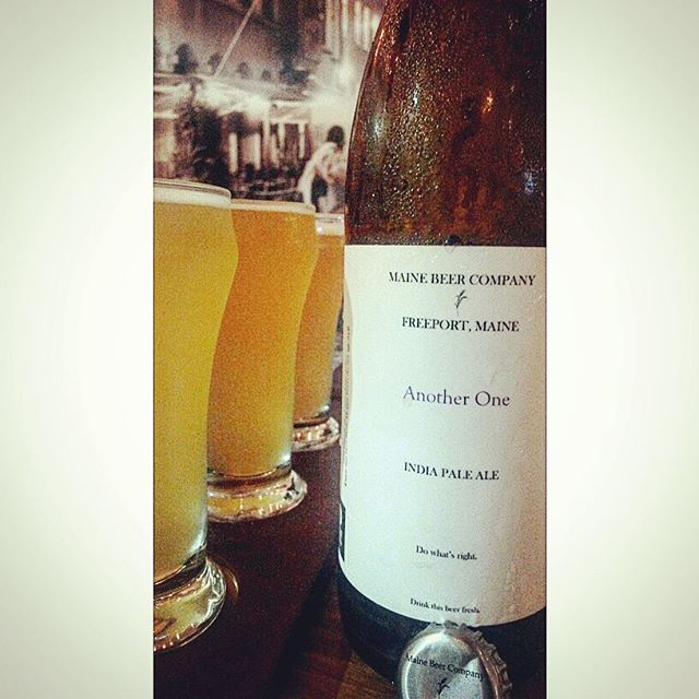 Another One IPA de Maine Beer Company vía @valdorm en Instagram