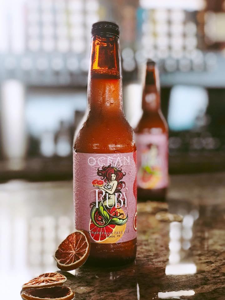 Isla Verde Puerto Rico Beer Bottle Cap Ocean Lab Brewing Co