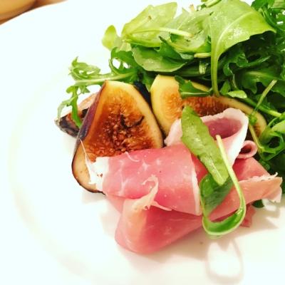 Fig and ham salad