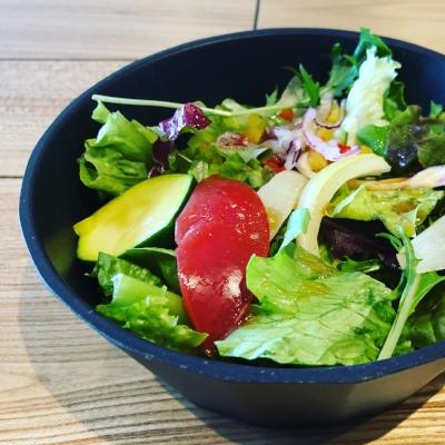 Lunch set salad