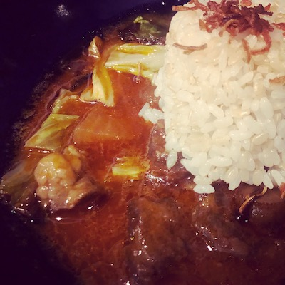 Bisei beef and burdock curry