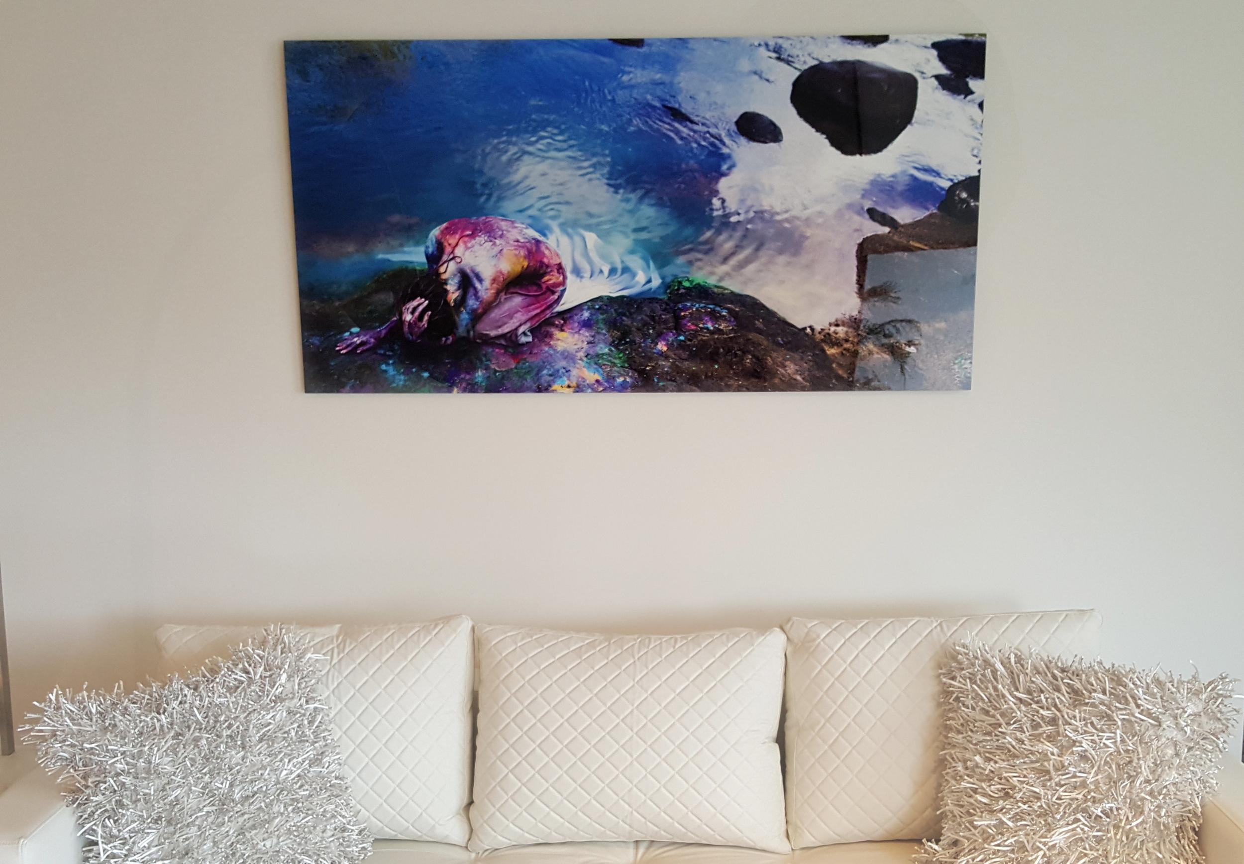 Art on walls