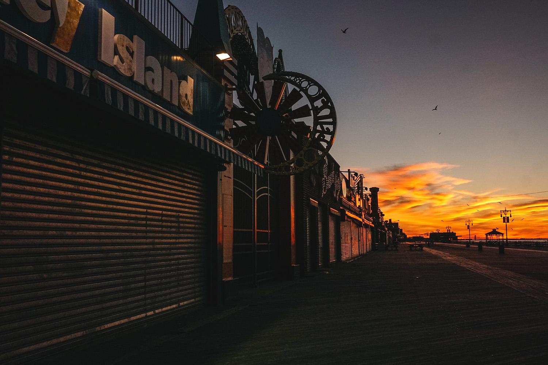 The empty Boardwalk