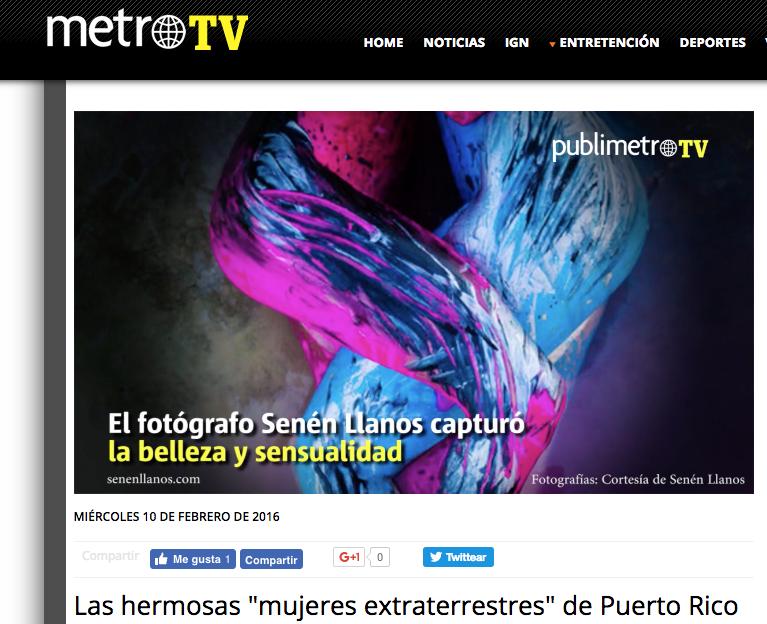 "Metro TV - video article ""Pretty Martian Women"""