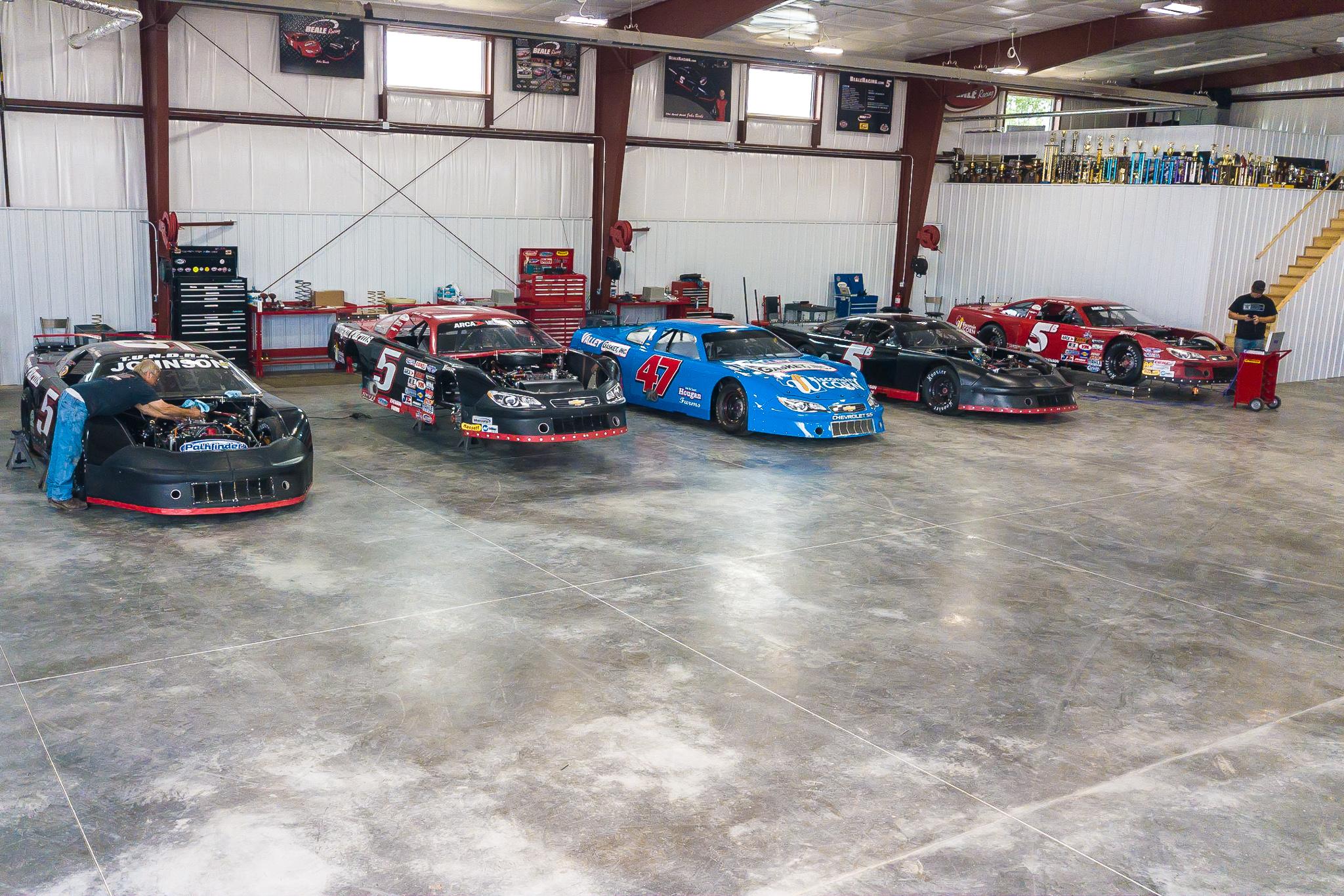 Beale Racing Headquarters