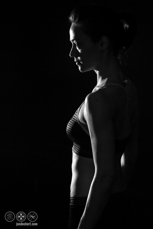 Dawn Hamil Cross Fit Fitness Portrait Photograph