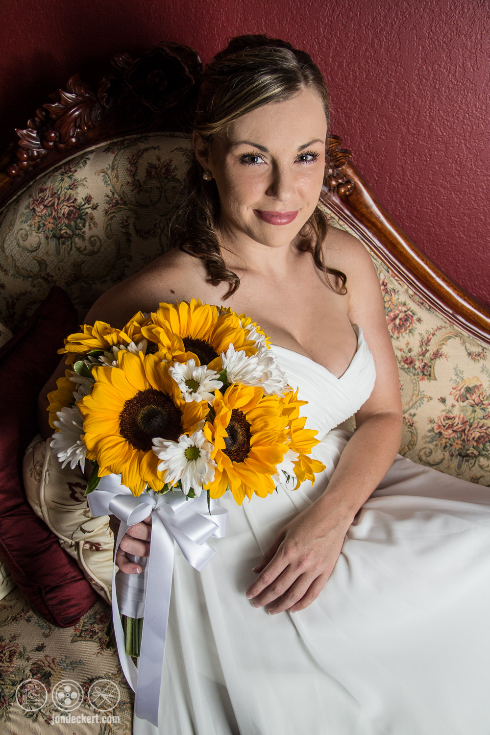 Beautiful Flowers to match beautiful bride on her wedding day