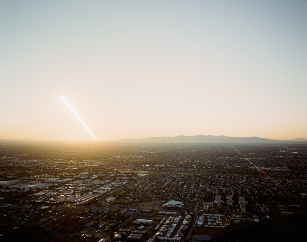 Forty-Two Minutes of Day and Forty-Two Minutes of Night From Shaw Butte, Phoenix, Arizona, 2010