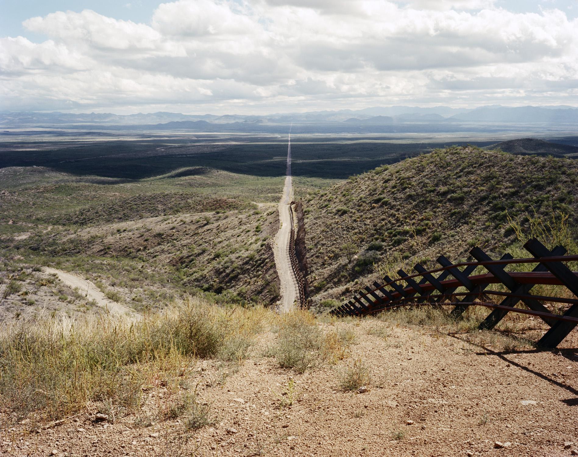U.S.-Mexico Border, Near Douglas, Arizona