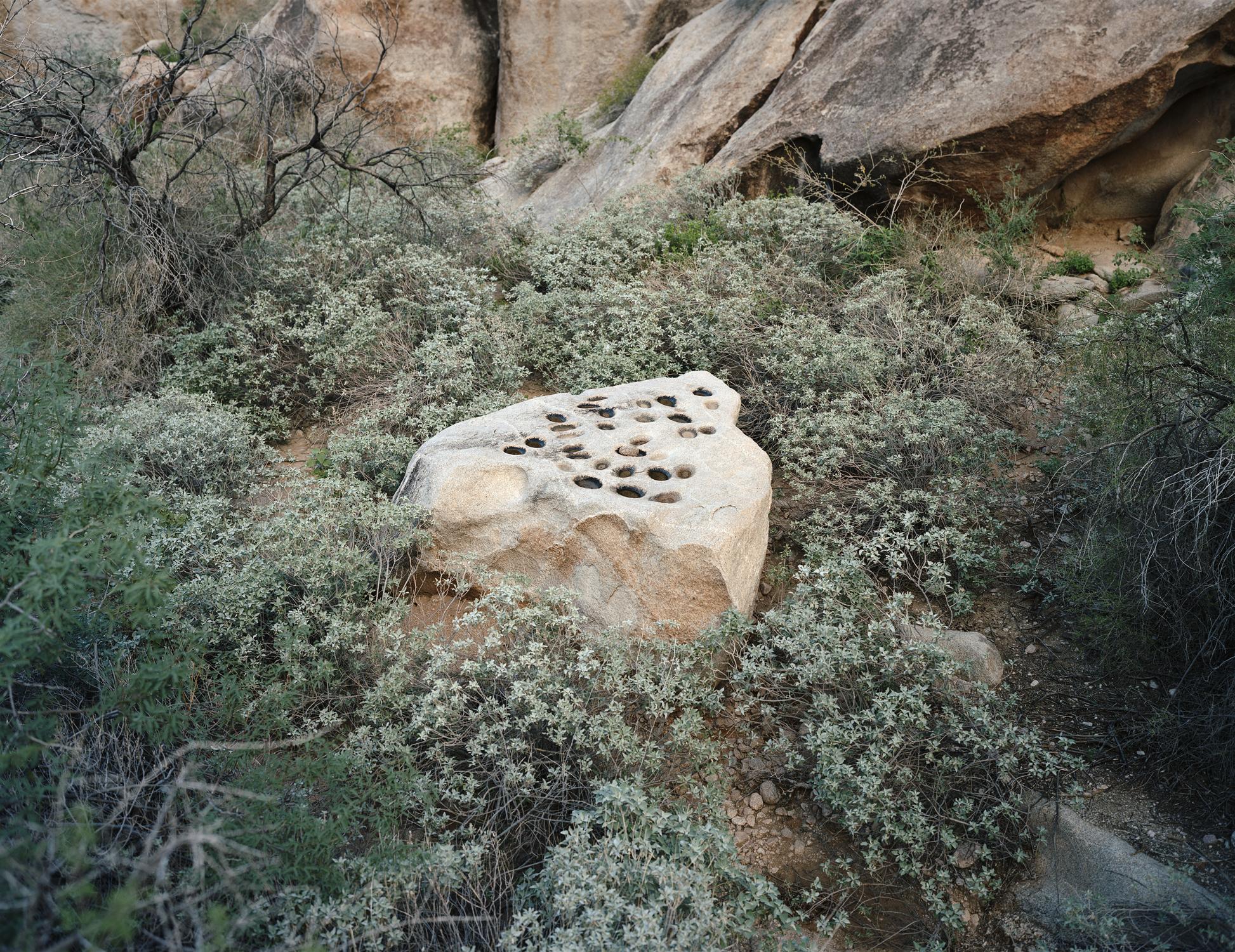 Metate, Tinajas Altas, Arizona