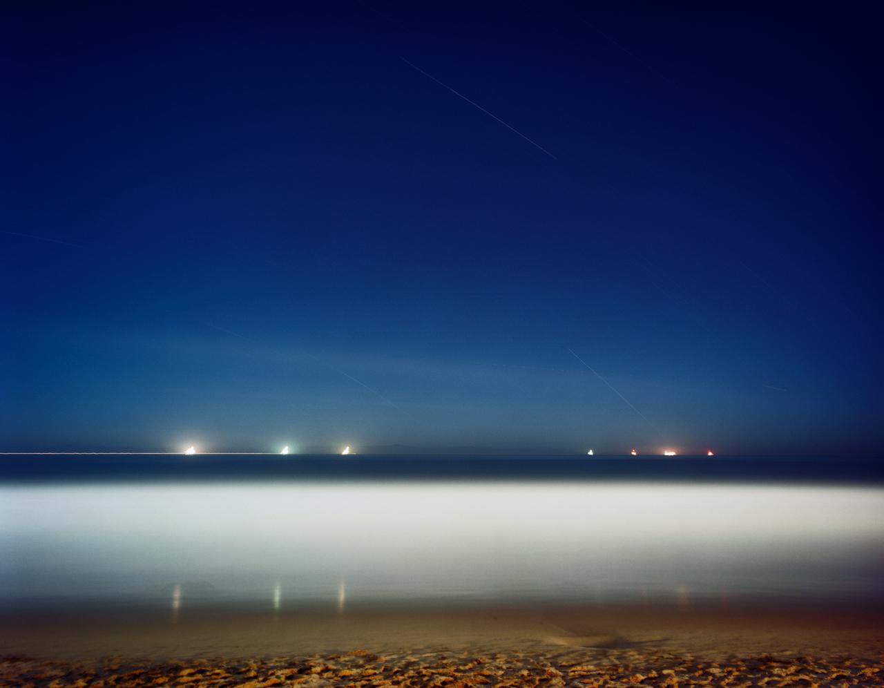 Seven Oil Platforms Off The Pacific Coast, Sixty Minutes, Carpintera, California